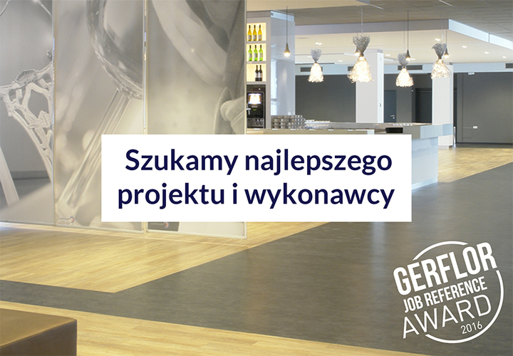 Gerflor Job Reference Award 2016 Pl